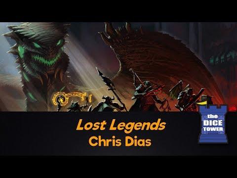 Lost Legends, by Chris Dias
