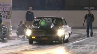 FASTEST STREET CAR IN THE WORLD! Larry Larson runs 6.95 @ 209 on Drag Week!!!