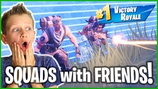 Chasing The Storm For A Victory Royale In SQUADS!