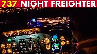 Piloting 737 Night Freighter Into Marseille