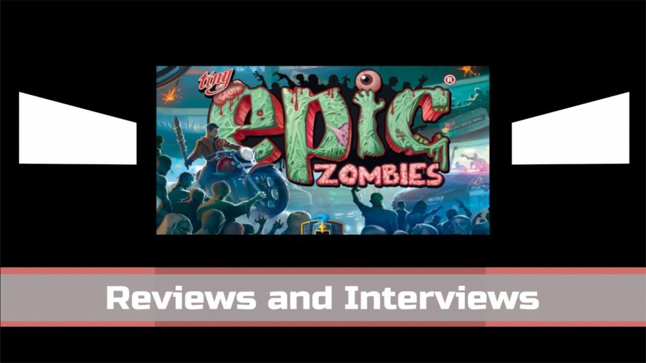 Tiny Epic Zombies Kickstarter Interview w/Michael Coe