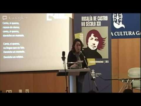 Lupe Gómez. Recital Cantares para Rosalía