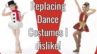 Replacing Dance Costumes I Dislike! 👎🏼 👍🏼 ❤️