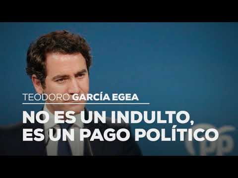 """Teodoro García Egea: """"No es un indulto, es un pago político"""""""