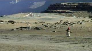 Tibet, Mount Kailash and lake Mansarovar.