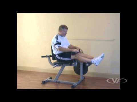 Lever Lying Leg Curl (on reverse hyper-extension machine, plate loaded)
