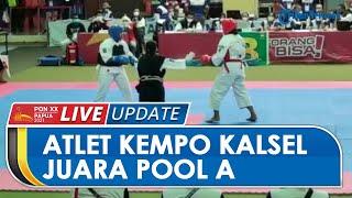 Berhasil Juara Pool A Randori Kelas 60 Kg, Atlet Kempo Kalsel Bakal Lawan Papua di Semifinal