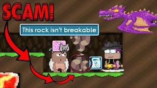 BEST SCAM FAIL EVER!? (*TRICKY*) | Growtopia