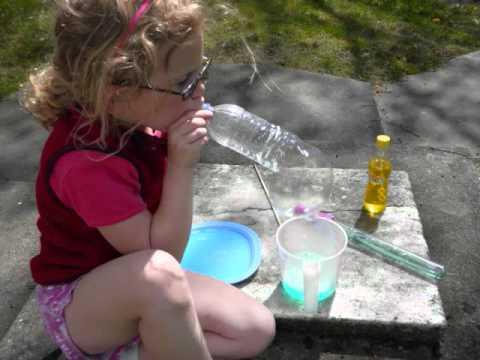 Screenshot of video: Bubbles