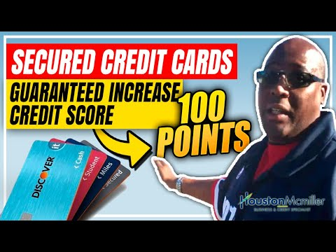 5 Best Secured Credit Cards For Bad Credit No Credit Check To Increase Credit Score 100pts.