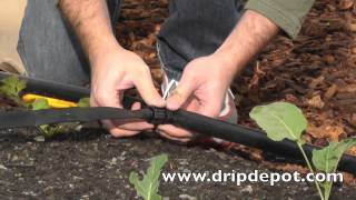 How to Install a Drip Irrigation System for Large Irregular Gardens