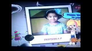 Piranthanal Vazhthukal Deepshika In Sunmusic On 15-12-2014