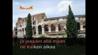 Magnum Karaoke 1606-Kaksi puuta