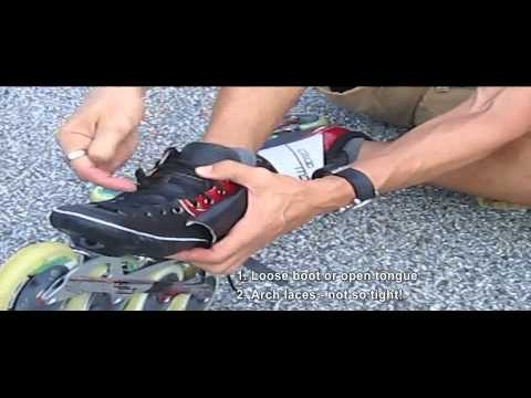 How to avoid foot pain while skating – inline skate tips