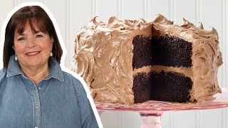 Ina Garten Makes Perfect Chocolate Cake   Food Network