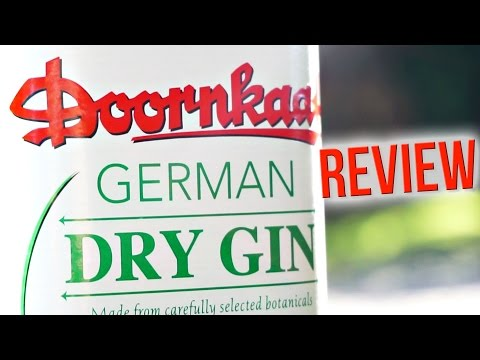 Doornkaat German Dry Gin – Review