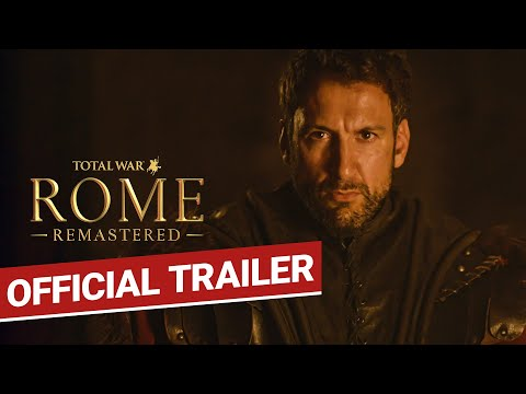 Announce Trailer - Take Back Your Empire de Total War: Rome Remastered