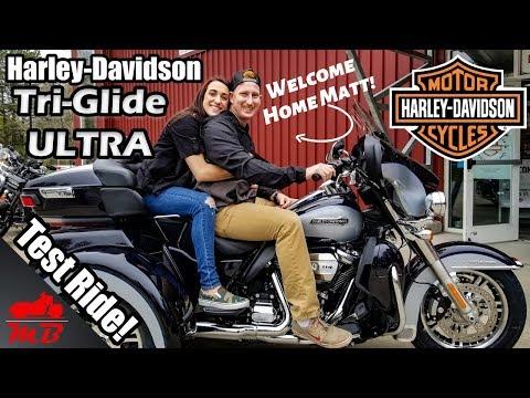 HARLEY-DAVIDSON FLHTCUTG TRI-GLIDE ULTRA 114 CI