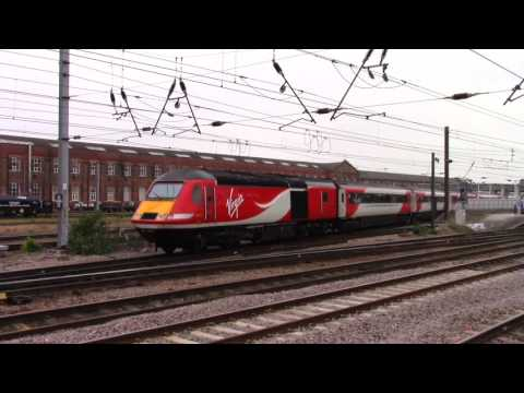 Freight and passenger highlights at Doncaster in June 2016