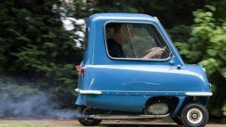 Прикольный трехколесный автомобиль