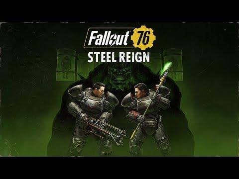 Fallout 76 : Bande-annonce de Règne d'Acier de Fallout 76