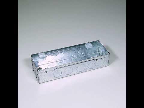 9x3, 8M S&G Wall Electrical Modular Metal Box