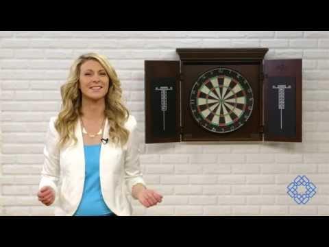 Video for Athos Sierra 25.25-Inch Dart Board
