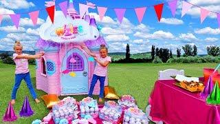 La fiesta sorpresa a Claudia con la piñata llena de juguetes wizies By Las Ratitas