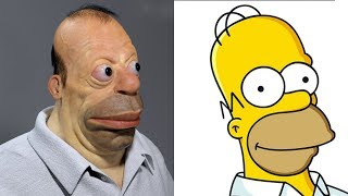 10 People Who Looks Like Cartoon Characters