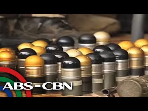 Abandoned ammo, terrorists' gear found in Marawi City