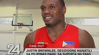 24 Oras: Justin Brownlee, desididong manatili sa Pilipinas dahil sa suporta ng fans