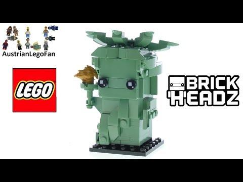 Vidéo LEGO BrickHeadz 40367 : Statue de la Liberté