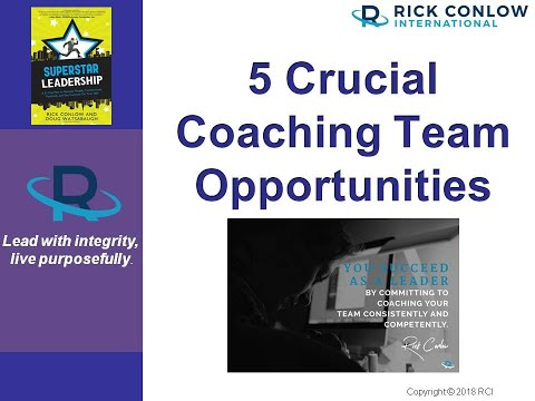 5 Crucial Team Coaching Opportunities-Leadership Training ...