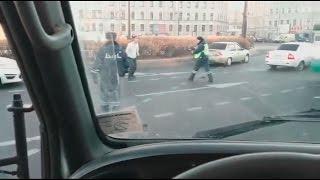 Перестрелка на площади Восстания 24.10.2014