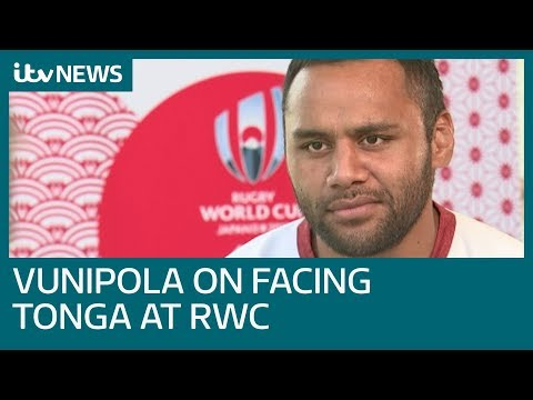 Full Interview: Billy Vunipola on facing Tonga at the Japan Rugby World Cup I ITV News
