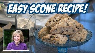Scone Recipe & Tutorial: Pecan Currant Scones In Under 20 Minutes!