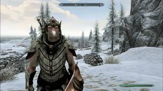 Skyrim Mods: Nordic Snow Elf Race (PS4/XBOX1)