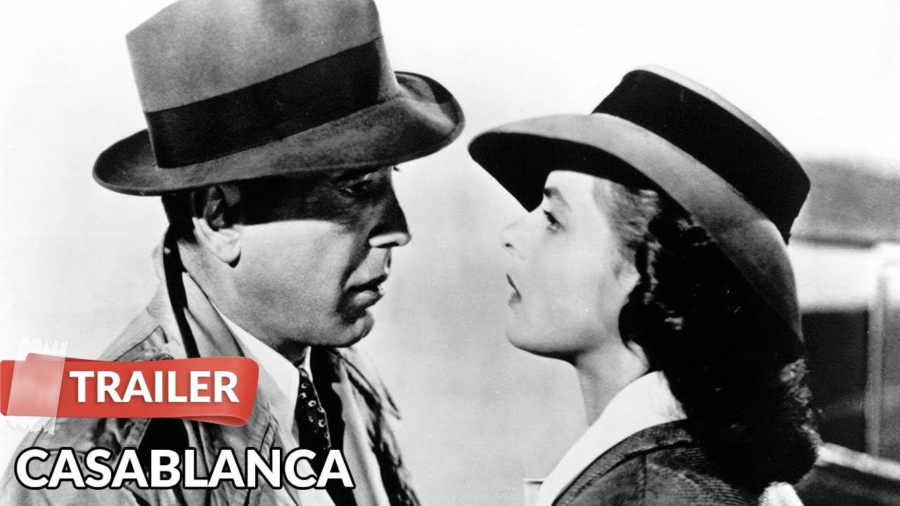 Video trailer för Casablanca 1942 Trailer HD | Humphrey Bogart | Ingrid Bergman