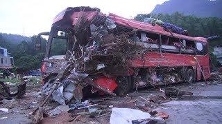Tai nạn nghiêm trọng trên quốc lộ 6, địa bàn huyện Mai Châu, tỉnh Hòa Bình: 41 người thương vong