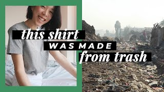 HOW TO MAKE A SHIRT FROM TRASH | WITHWENDY