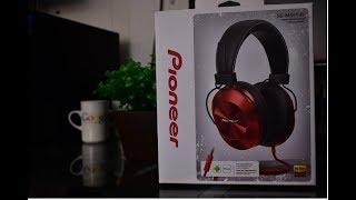 Unboxing y review audífonos pioneer SE-MS5T-R Hi-Res