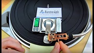 Riverstone Audio Record-Level Turntable Vertical Tracking Force Gauge - Setup and Features