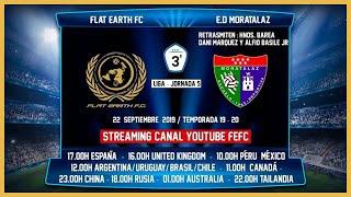 R.F.F.M - Jornada 5 - Tercera División Nacional: Flat Earth F.C 1-2 Escuela Dep. Moratalaz