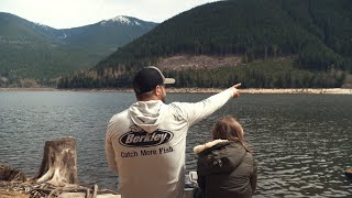 Father + Daughter Trout Fishing