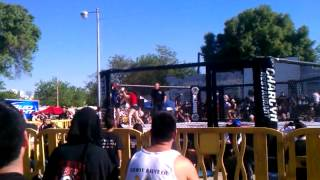 preview picture of video '559 fight in Hanford!! UFC. April 21, 2012'