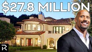 Dwayne The Rock Johnson's New Beverly Hills Mansion