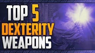 Dark Souls 3   Top 5 Best Dex Weapons