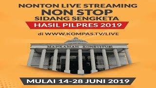 [LIVE] BREAKINGNEWS - Sidang Lanjutan Sengketa Pilpres 2019