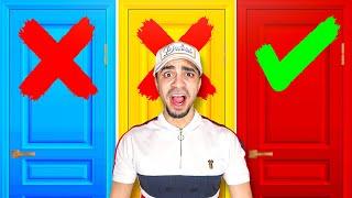 تحدي لا تختار الباب الغلط 🚪 Don't Choose the Wrong Door Challenge