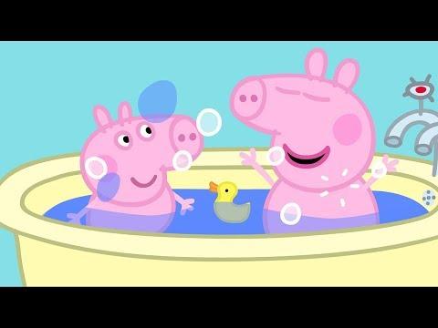Peppa Pig English Episodes | Peppa Pig's Bath Time  Peppa Pig Official